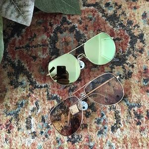 NWT Charlotte Russe - Set of Two Sunglasses